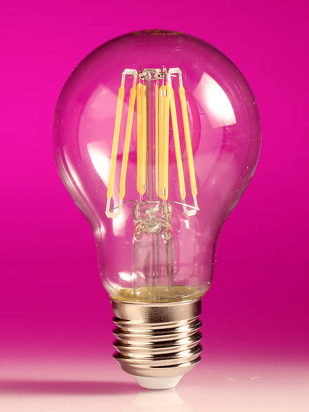 Clear Filament LED 6W E27 Bulb (60 watt)
