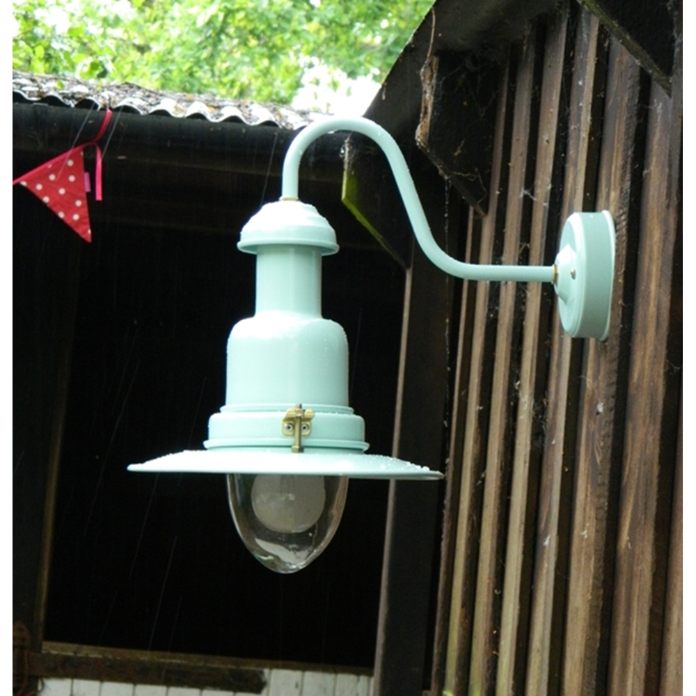 Outdoor Fisherman's Wall Light in SeaSpray