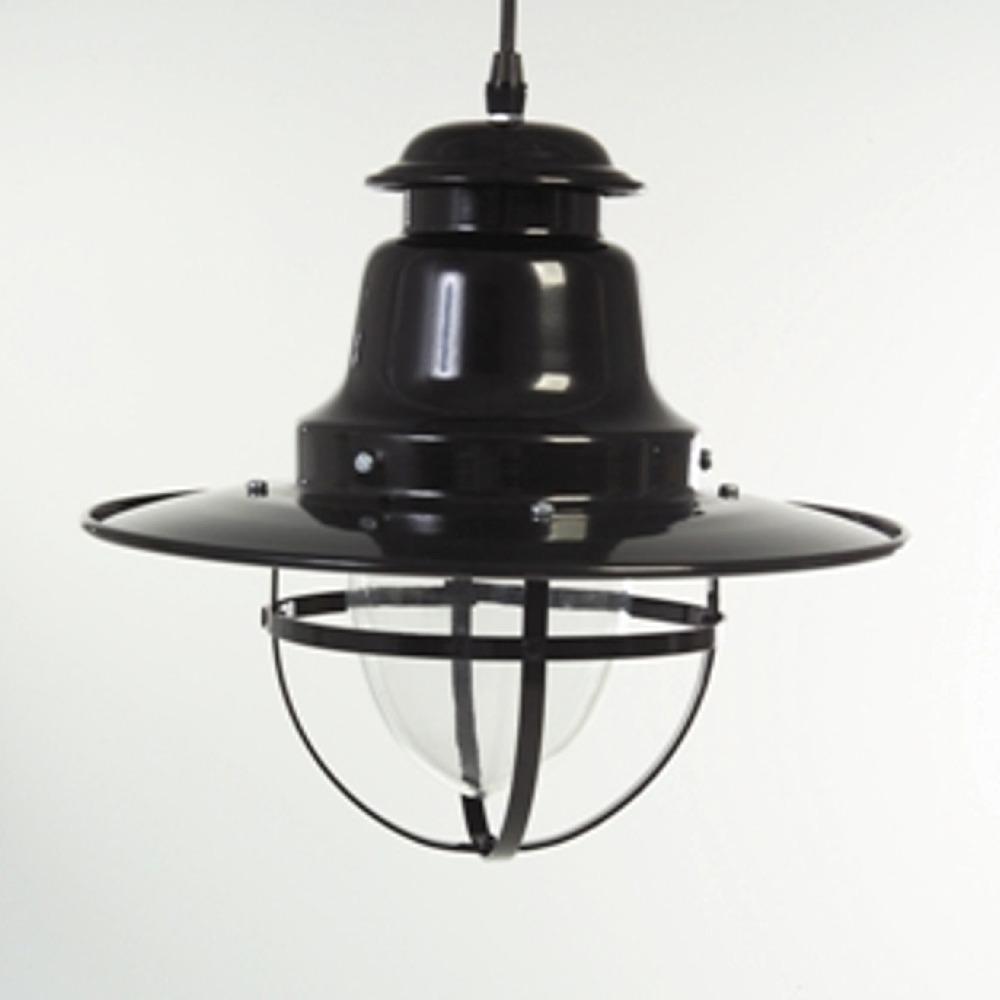Black Nautical Quayside Pendant Light