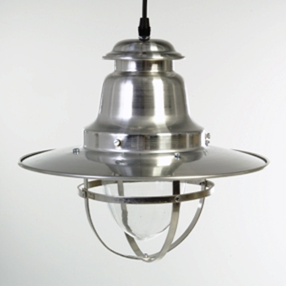 Silver Quayside Pendant Light