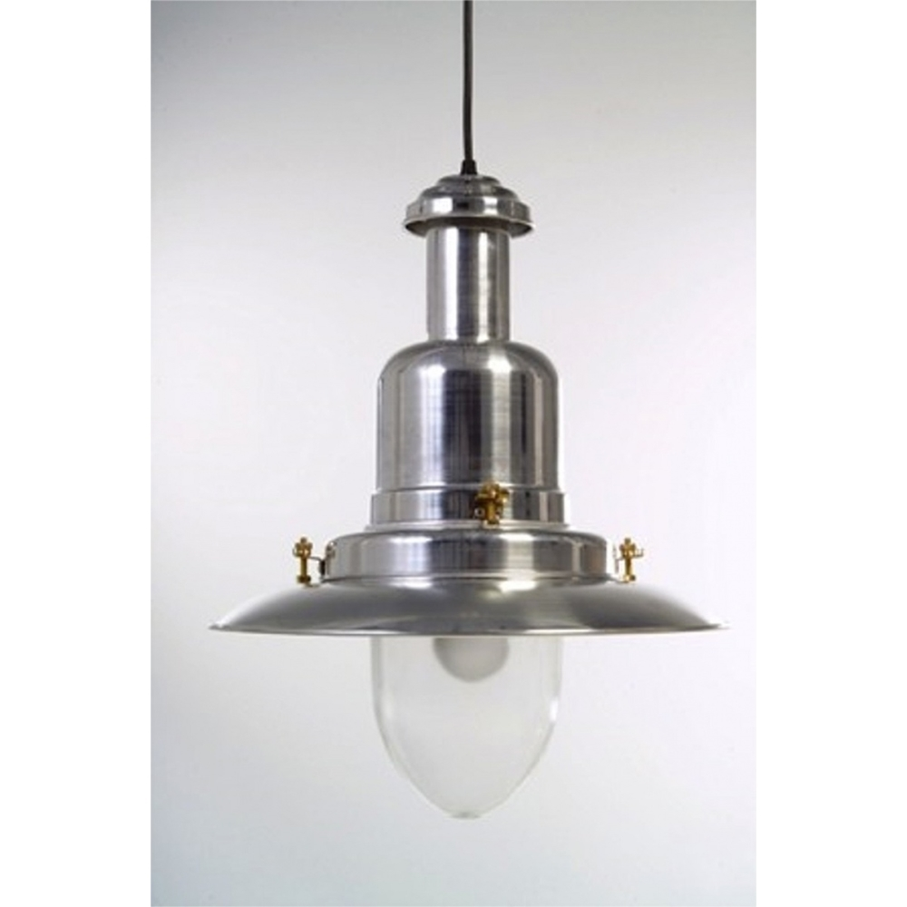 Extra Large Silver Fisherman\'s Ceiling Light