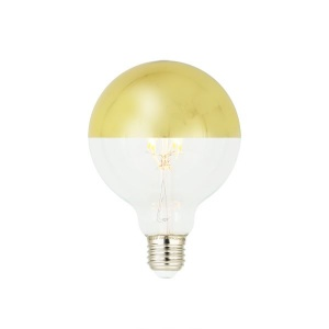 LED FULL GLASS FILAMENT GOLD-MIRROR