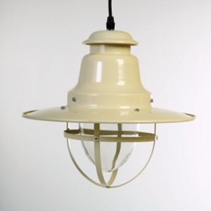 Cream Quayside Nautical Pendant Light