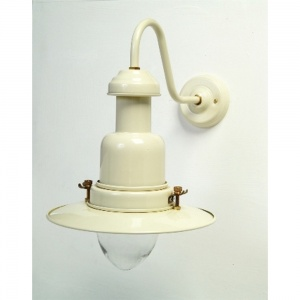 Cream Fisherman's Wall Lamp
